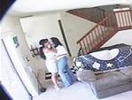 Esposa infiel grabada con camara oculta por esposo