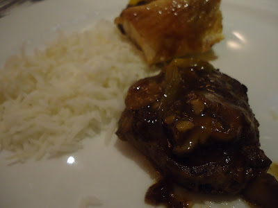 Lady's third plate at Petals Restaurant, Rose Rayhaan by Rotana
