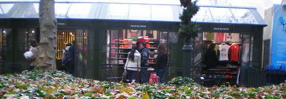 Shopping Local - Bryant Park