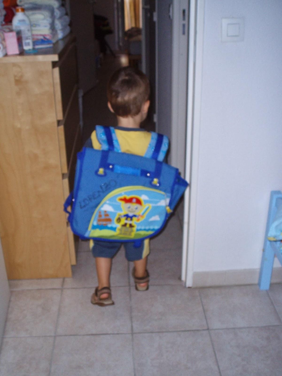 Primo terribile giorno di scuola materna francese mamma for Scuola materna francese