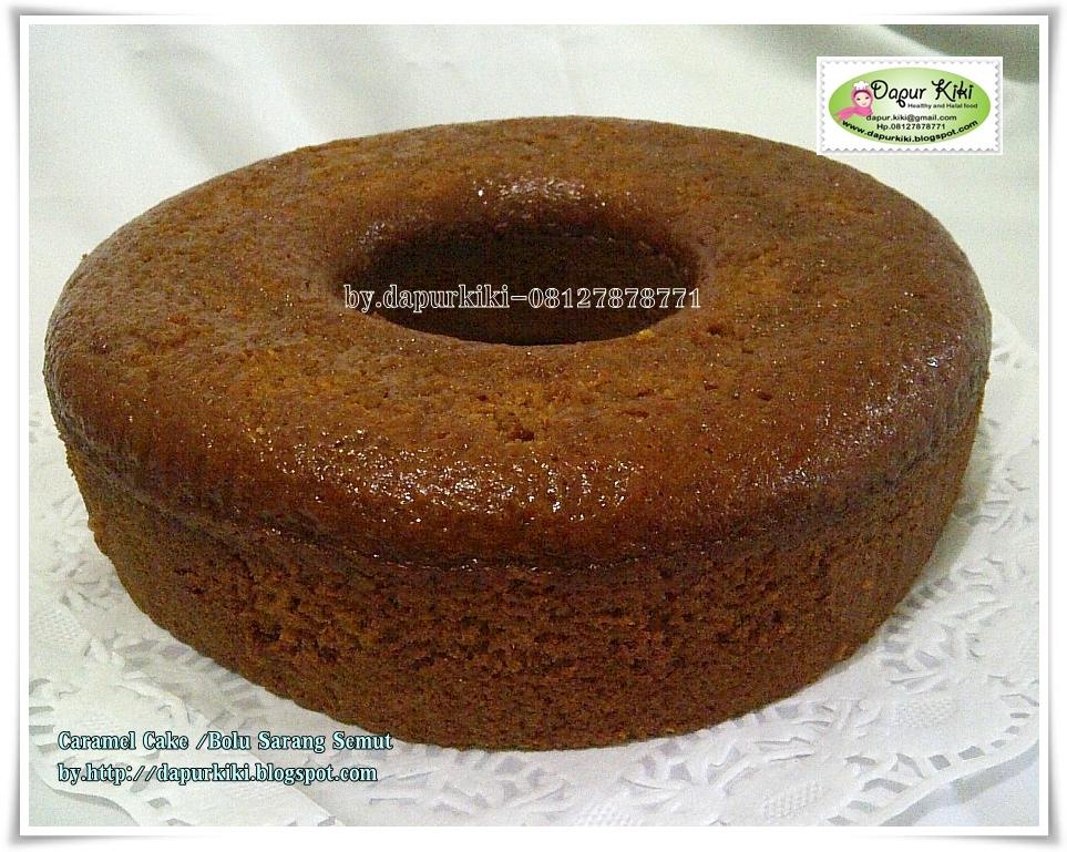 Caramel Cake / Bolu Sarang Semut