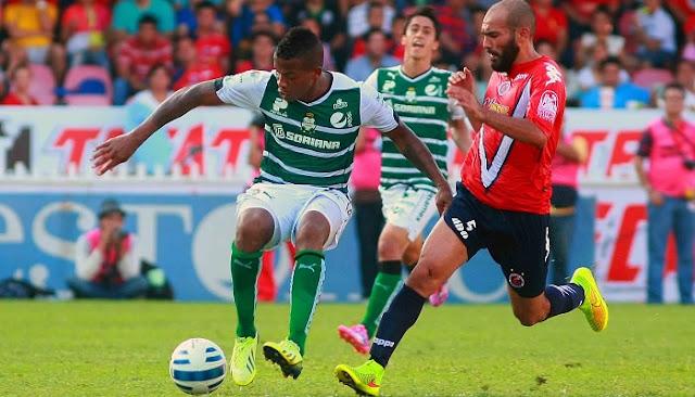Ver partido Veracruz vs Santos en vivo