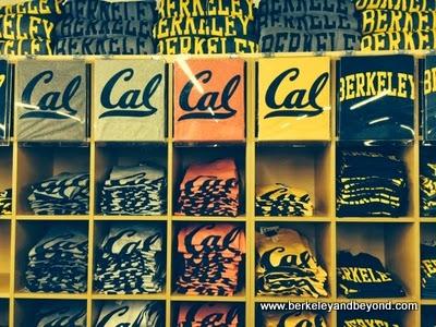 t-shirts at Cal Student Store in Berkeley, California