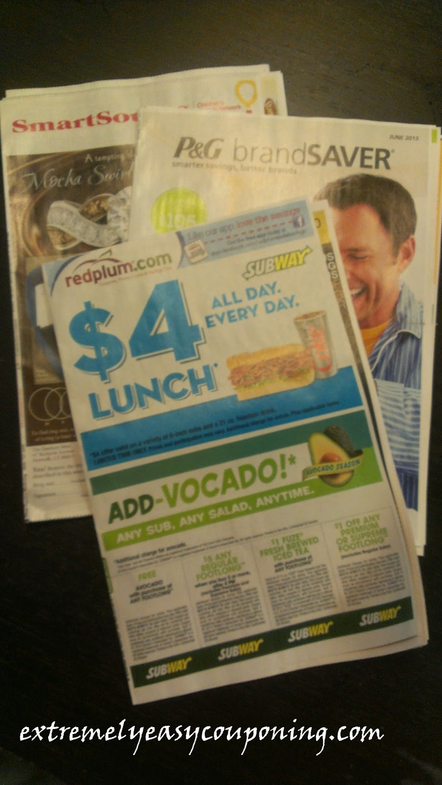 Extremely Easy Couponing: 3 Sunday Coupon Inserts today