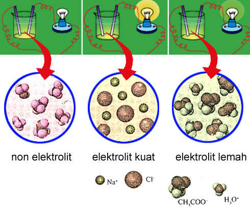 Blog Pendidikan Kimia Membedakan Larutan Elektrolit Dan Larutan Non
