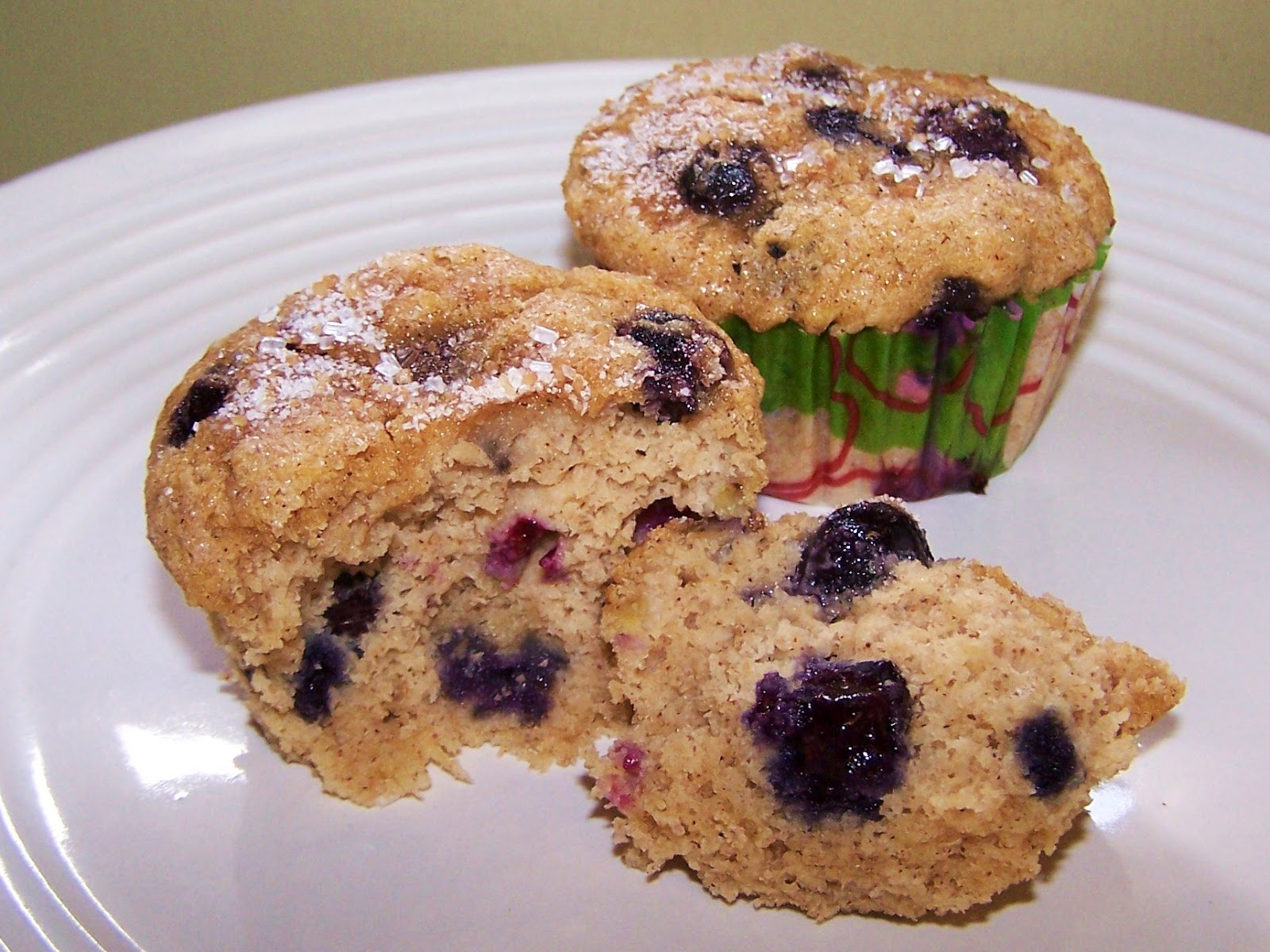 banana blueberry muffins gluten free these delicious banana blueberry ...