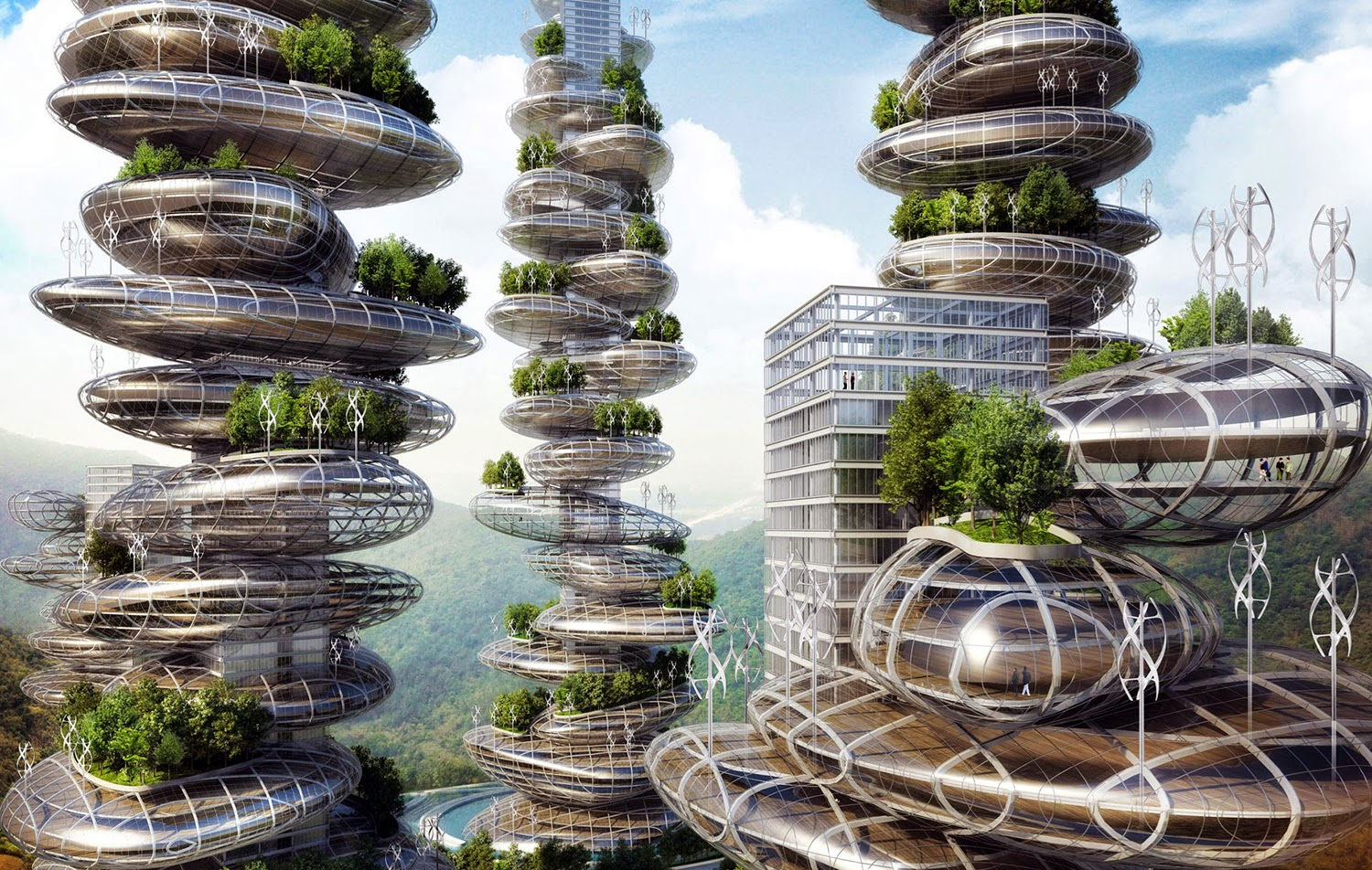 Asian cains de Vincent Callebaut