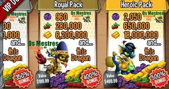 Vip deals dragon city