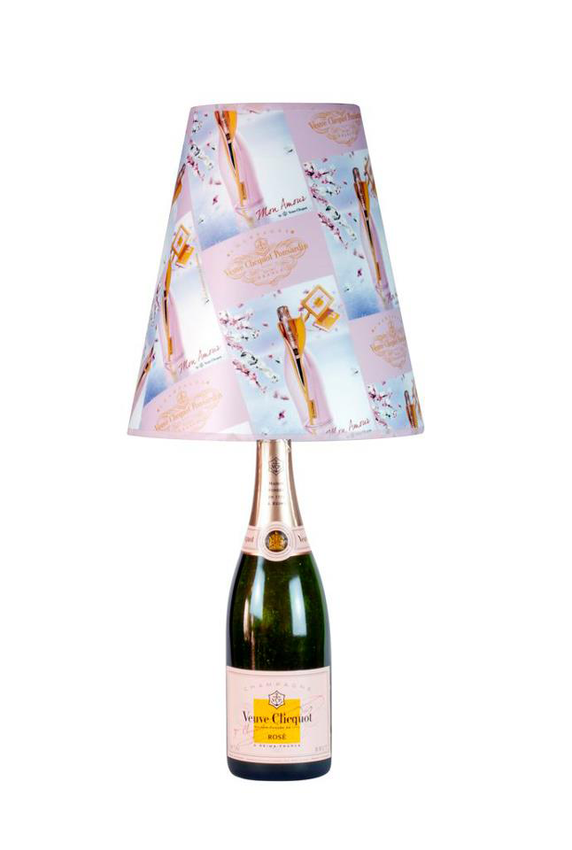 veuve clicquot lamp