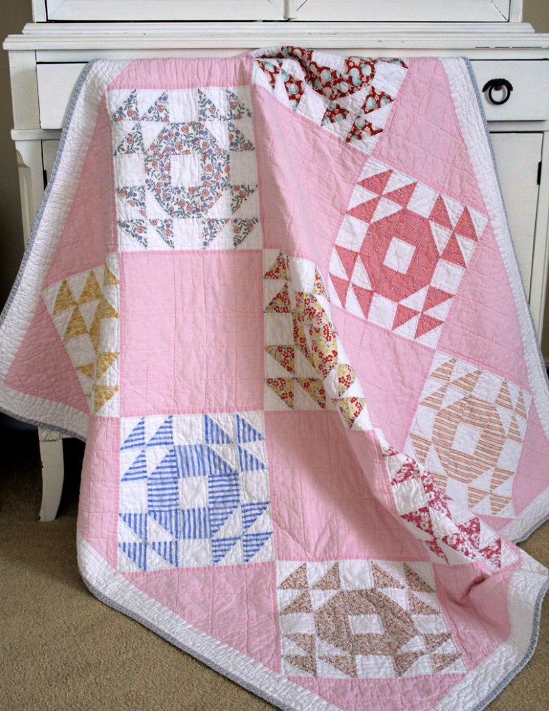 Quilt Inspiration: Single Wedding Ring Quilts