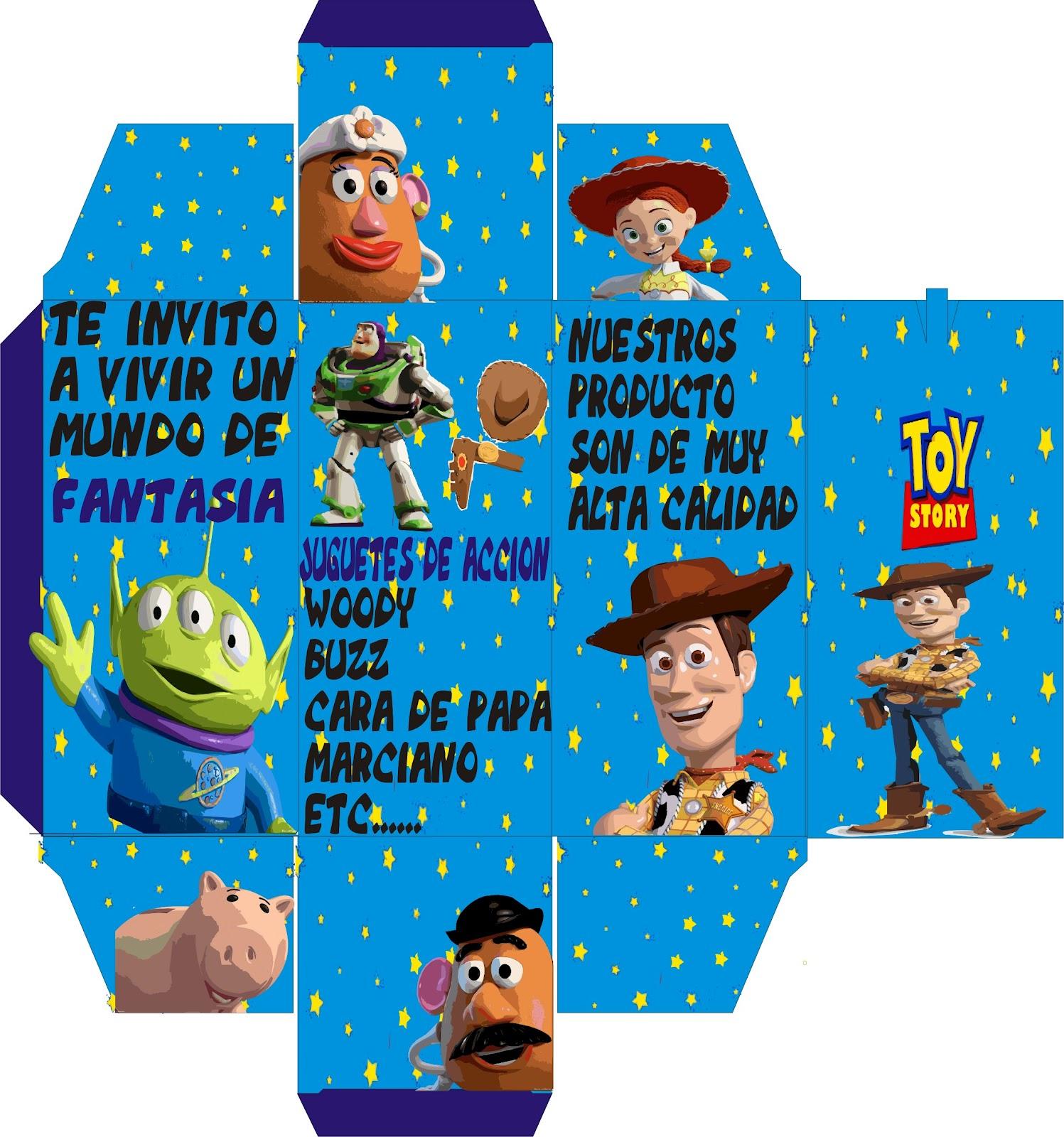 Toy Story 4 2012 : Evidencias diseño grafico empaque toy story