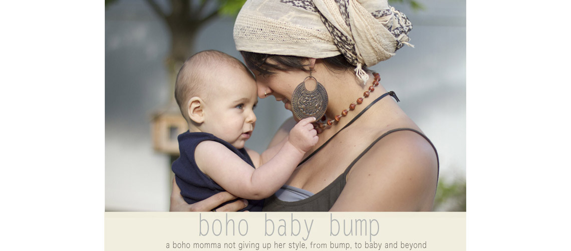 boho baby bump