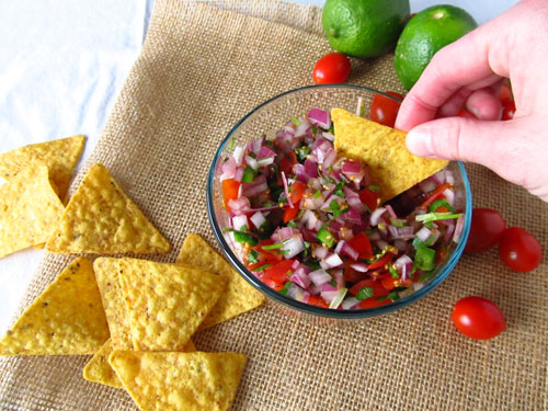 Pico de Gallo-Fresh salsa