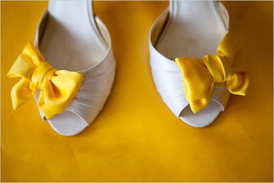 Rainbow Wedding Shoes
