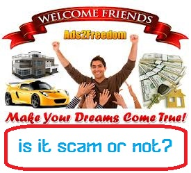 ads2freedom scam or not