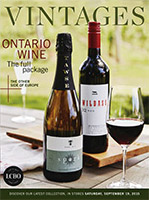 LCBO Wine Picks from September 19, 2015 VINTAGES Release