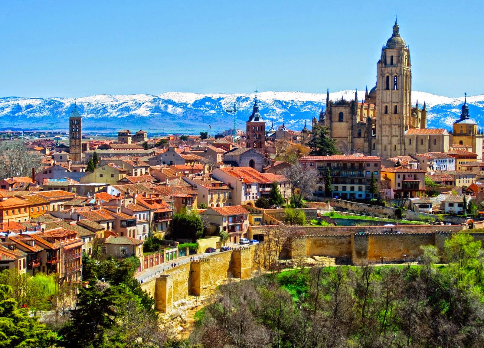 Most Beautiful Cities In Spain Tourism And Travel