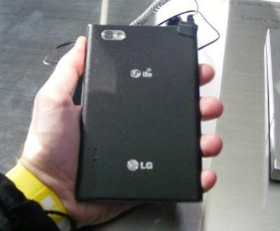 lg optimus vu black back camera quality specs features