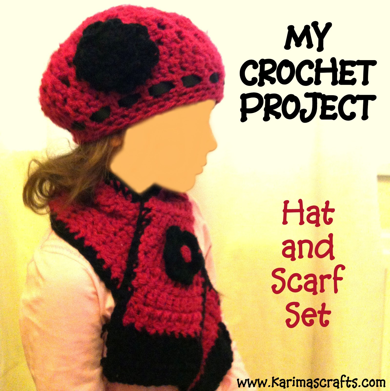 hat and scarf crochet muslim blog