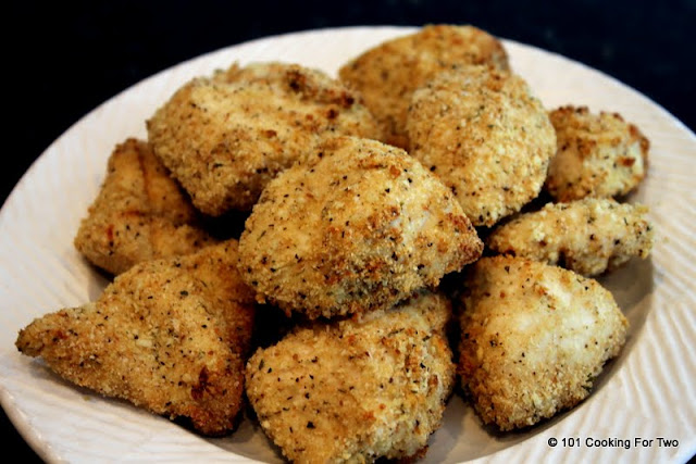 Healthy Baked Chicken Nuggets from 101 Cooking For Two