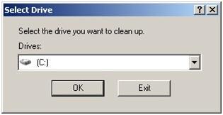 Menggunakan disk cleanup untuk membersihkan temporer file windows