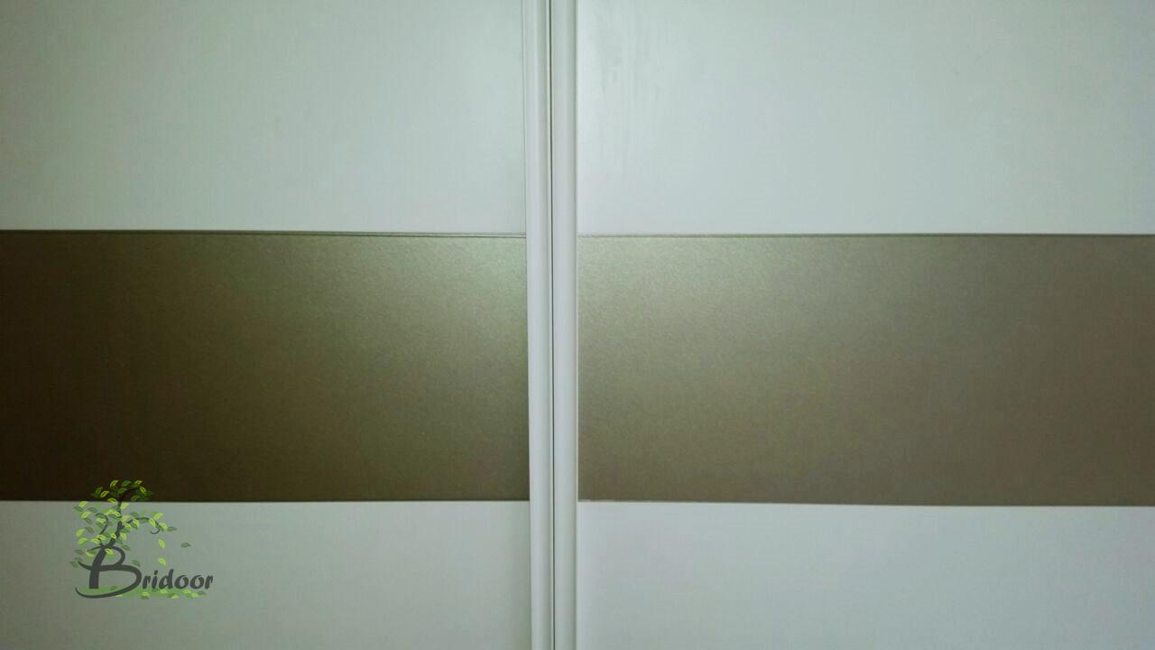 Puertas Lacadas Blancas Con Cristales Interesting Modelo Rtl V