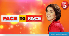 Face To Face March 19, 2013 Episode Replay
