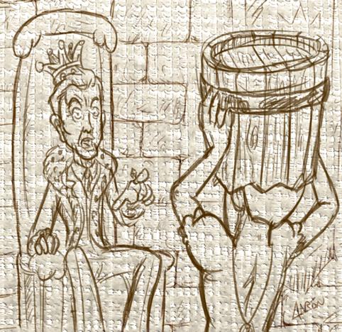 El Rey Arturo Fernández confunde a Fernando con su hijo perdido