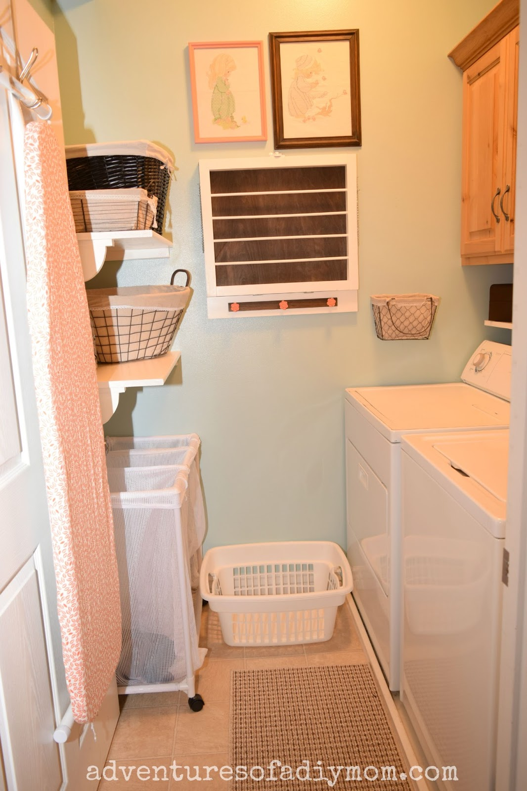 Laundry Room Makeover - Before and After Pictures - Adventures of ...