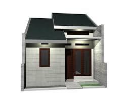 Denah rumah 36 minimalis