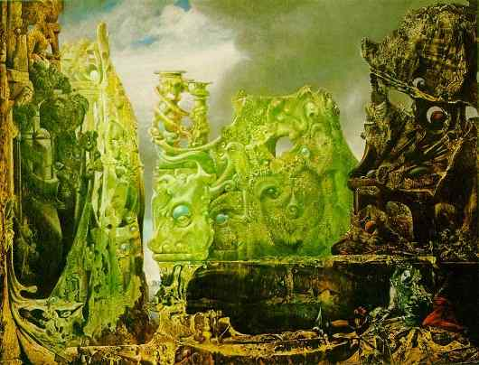 Max Ernst The eye of silence