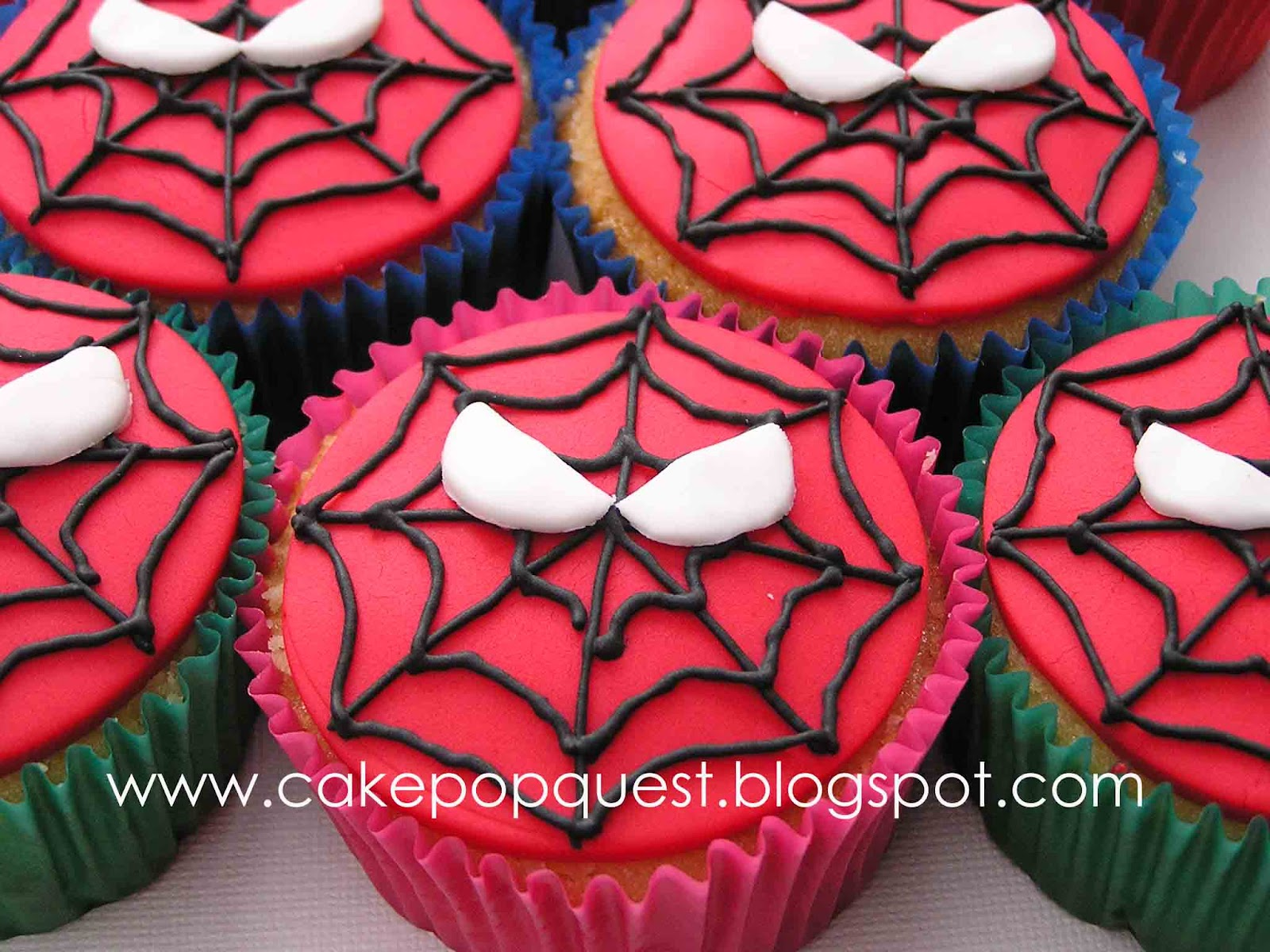 Spiderman Cupcake Images : {Sticky} Sweet