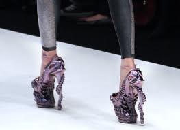 Crazy designer heels
