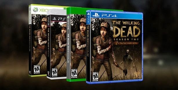 The Walking dead stumble to PS4, Xbox One