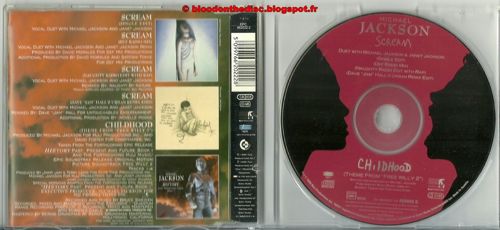 Scream Maxi CD Single