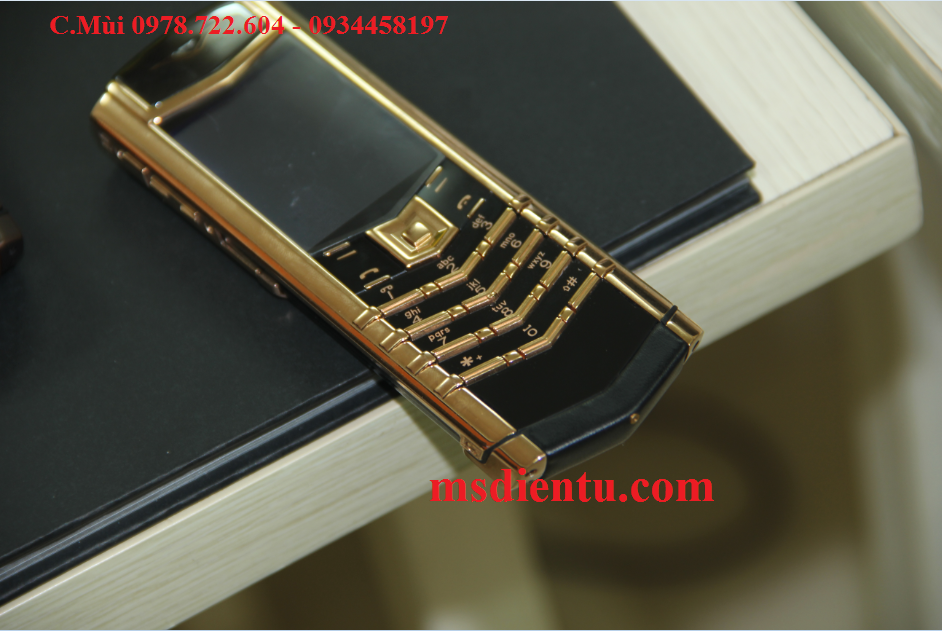 Vertu Signature S Red Gold Ceramic vàng đồng trung quốc