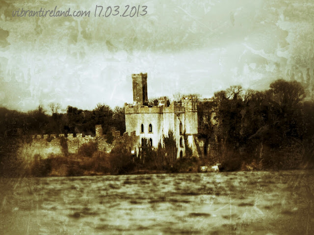 The old castle on an island in Rosscommon's Lough Key is like something out of  mythology.