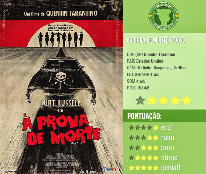 "À PROVA DE MORTE, ""DEATH PROOF"" (2007)"