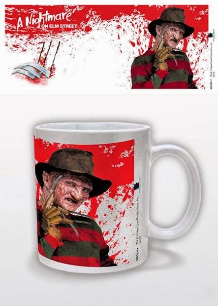 Taza Pesadilla en Elm Street