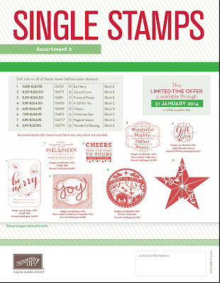Stampin' Up! Christmas Stamps 2013