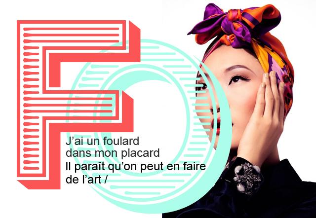 Tendance foulards 2013