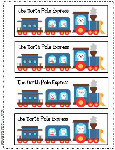 Polar Express Clip Art Black And White And the polar express
