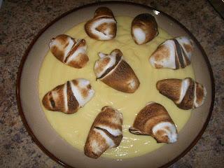 Receta de natilla con merenguitos