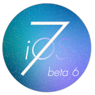 iOS 7 Beta 6 Logo Download links