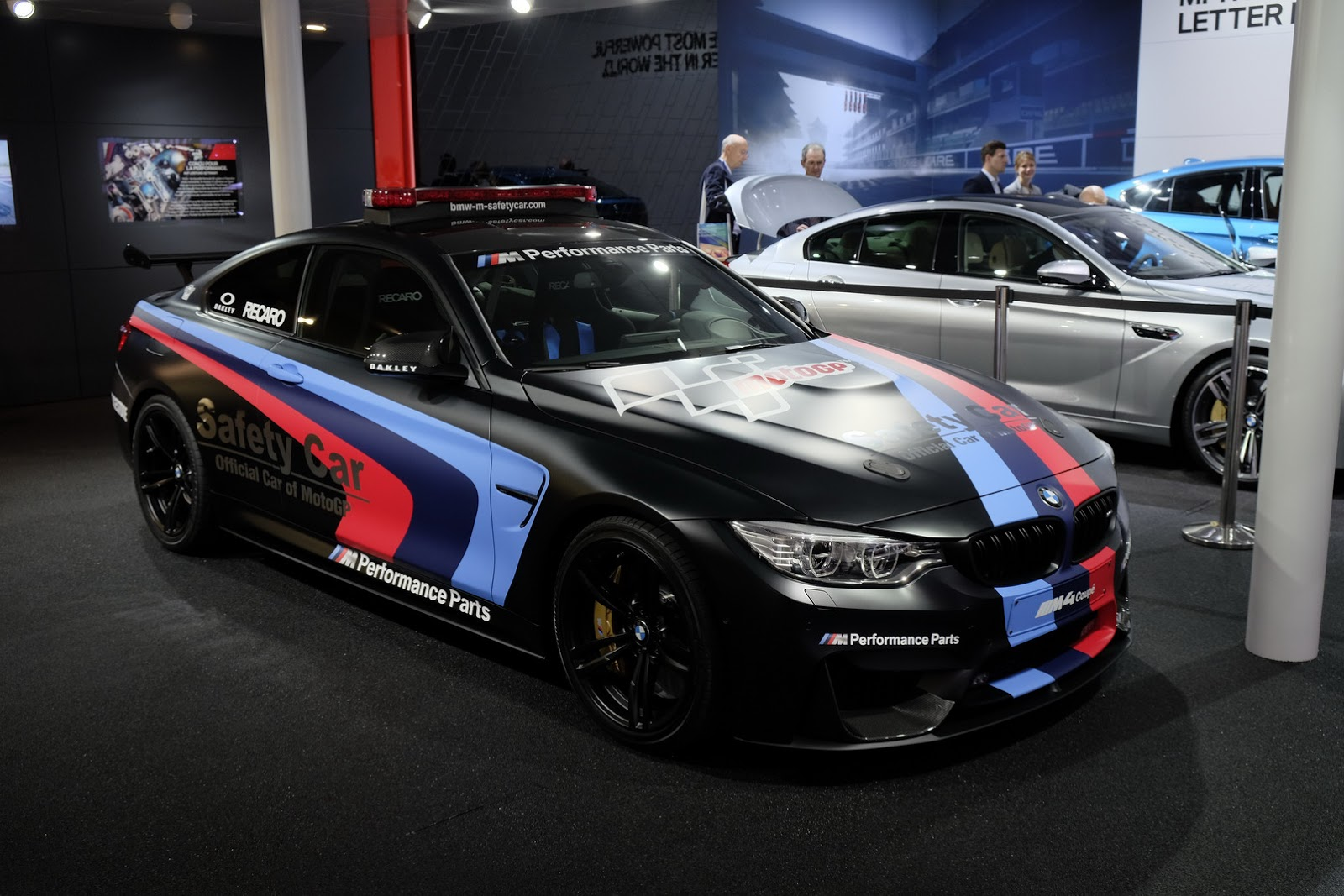 BMW M MotoGP Safety Car Uses Water To Boost Power Will Be Used - Sports cars 5 letters