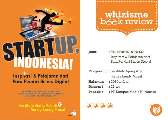 Buku StartUp digital, Startup bisniss, technopreneurship