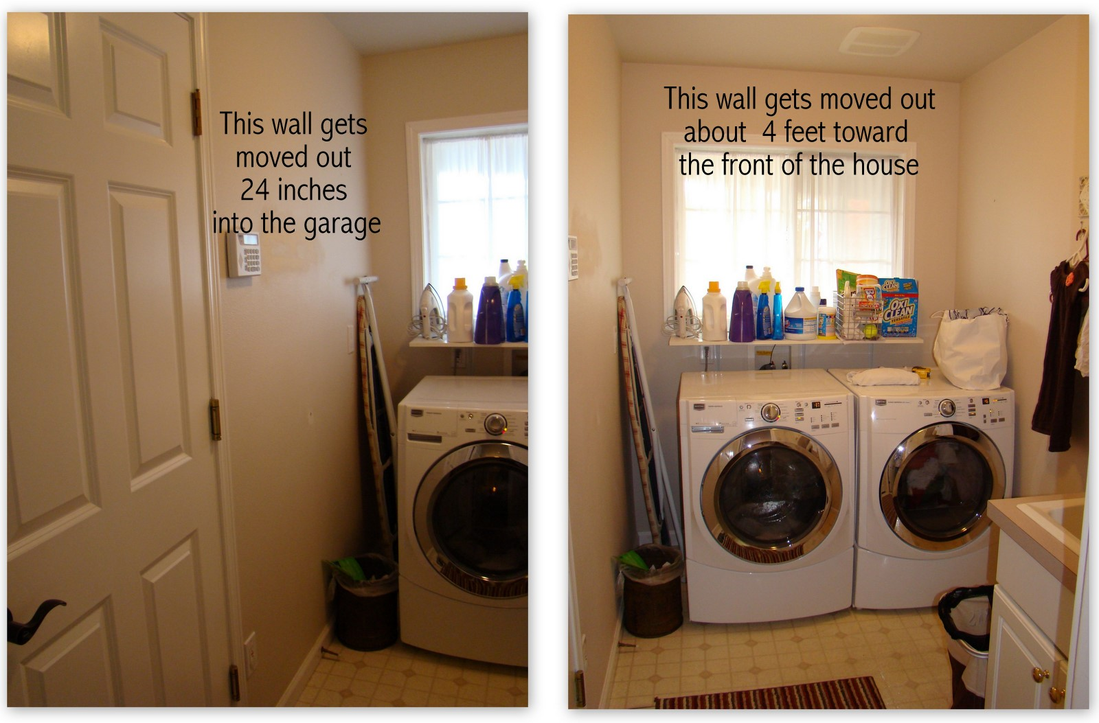 laundry room before and after outdoor decor ideas summer