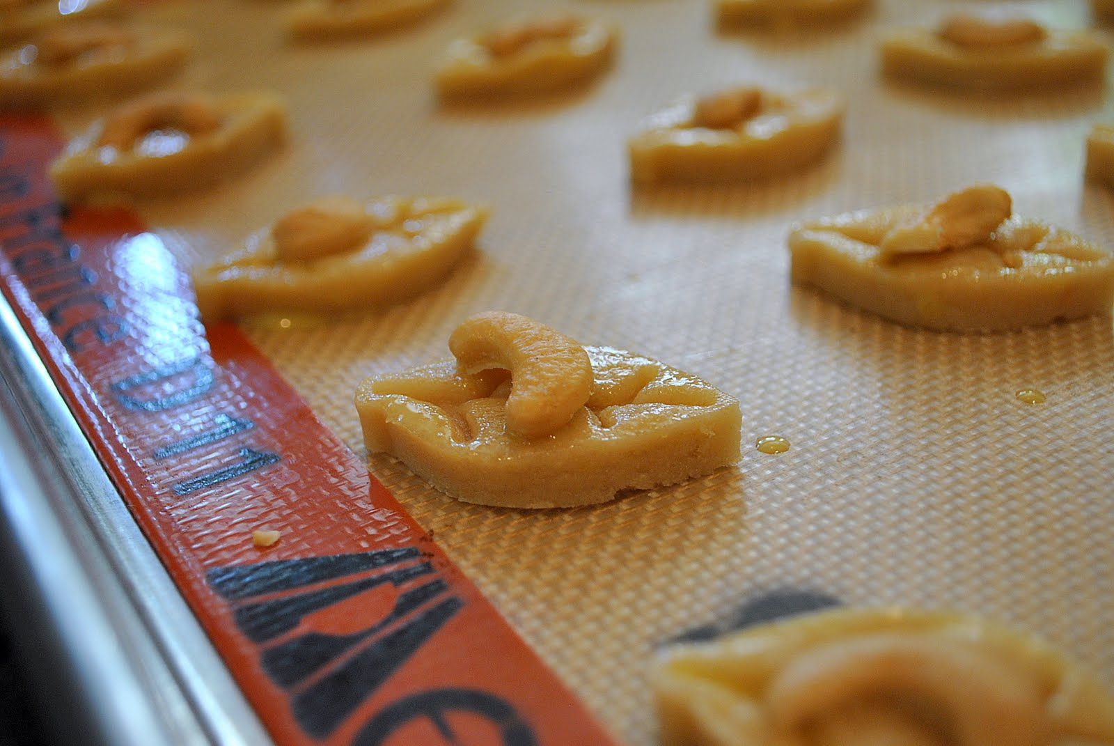 Cashew cookies recipe