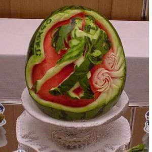 Dancing Couple In Water Melon Art