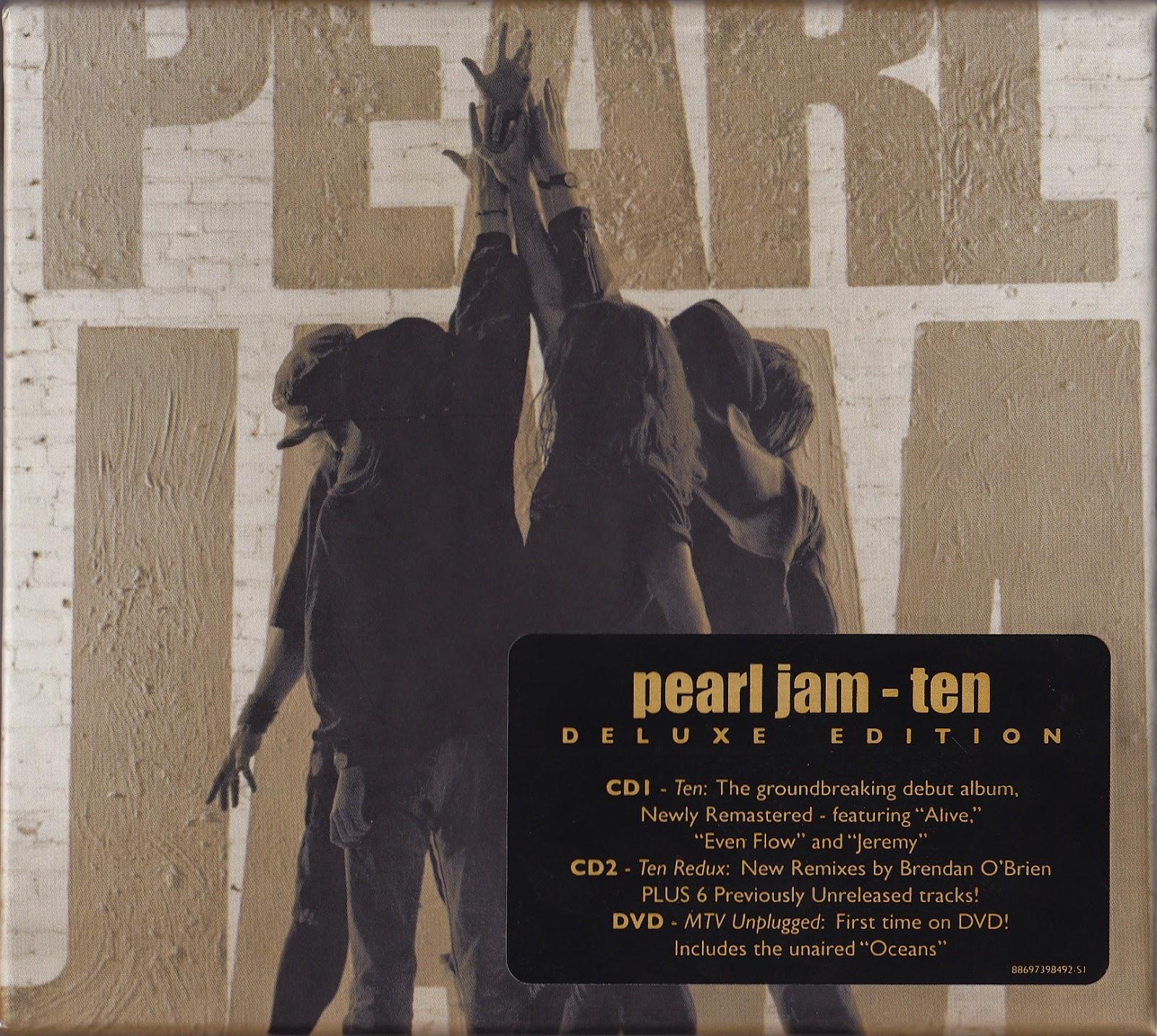 2009 - Ten {Deluxe Edition}  2CD  (Epic)